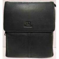 Мужская кожаная сумка Bretton (чёрная) 20-01-082