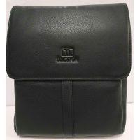 Мужская кожаная сумка Bretton (чёрная) 20-01-083